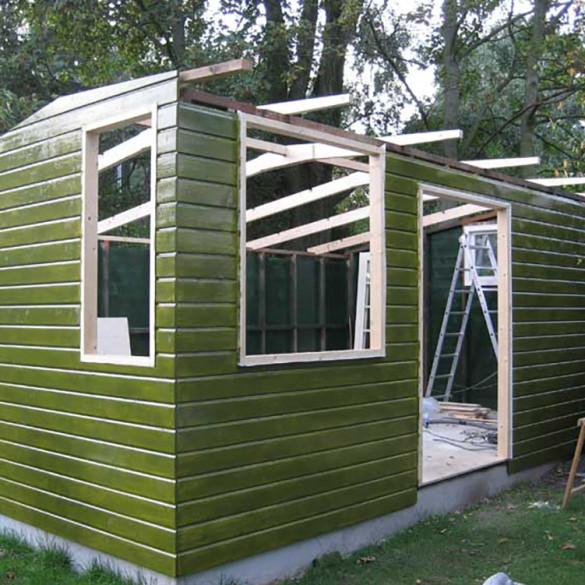 Tuinhuis atelier door Gert Fikst Het
